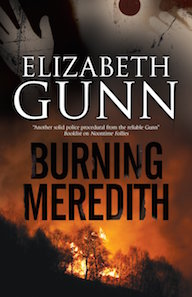 Burning Meredith: a Mystery Set in Montana by Elizabeth Gunn